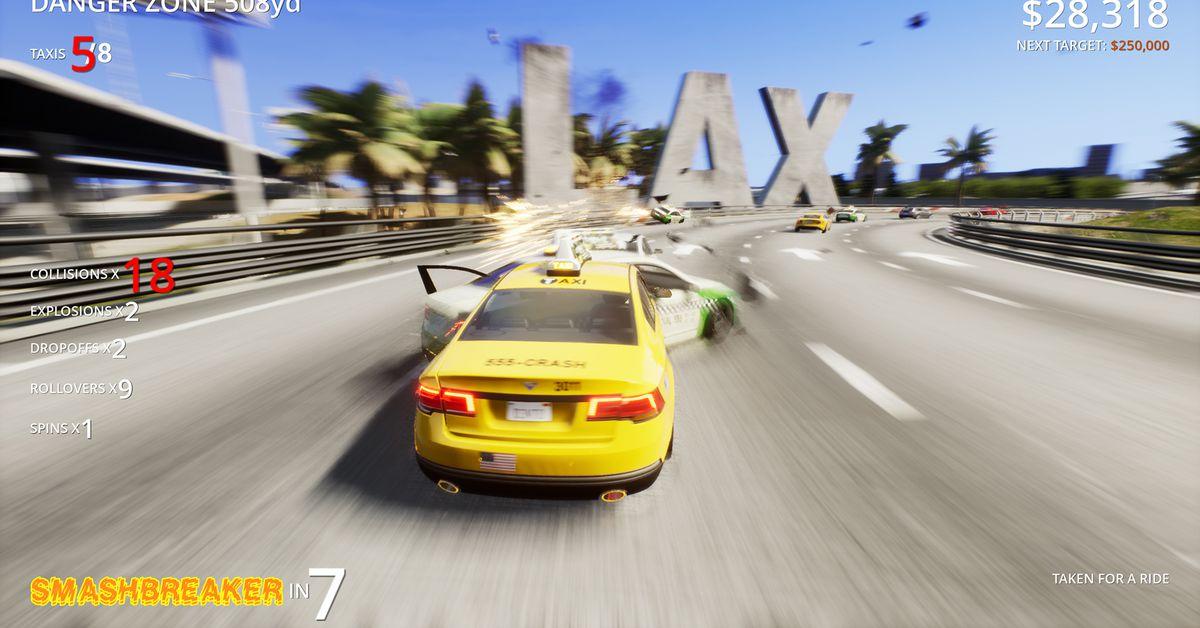 Burnout creators announce two new car destruction games