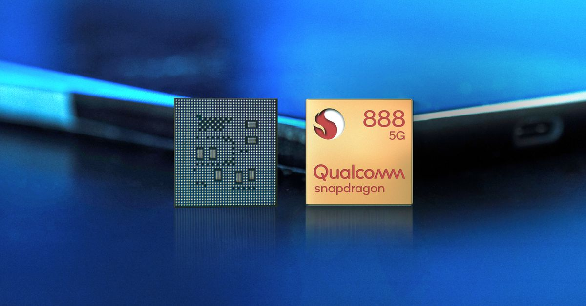 Snapdragon 888 front chip in studio  1