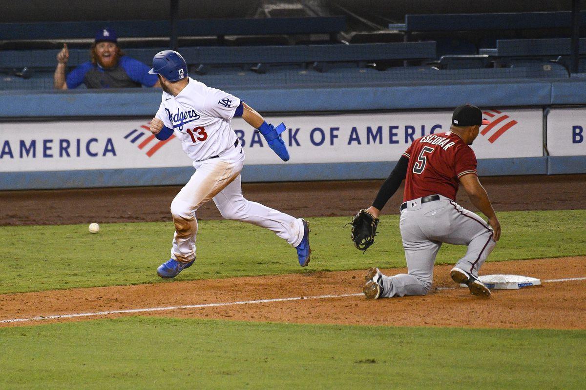 MLB: SEP 02 Diamondbacks at Dodgers