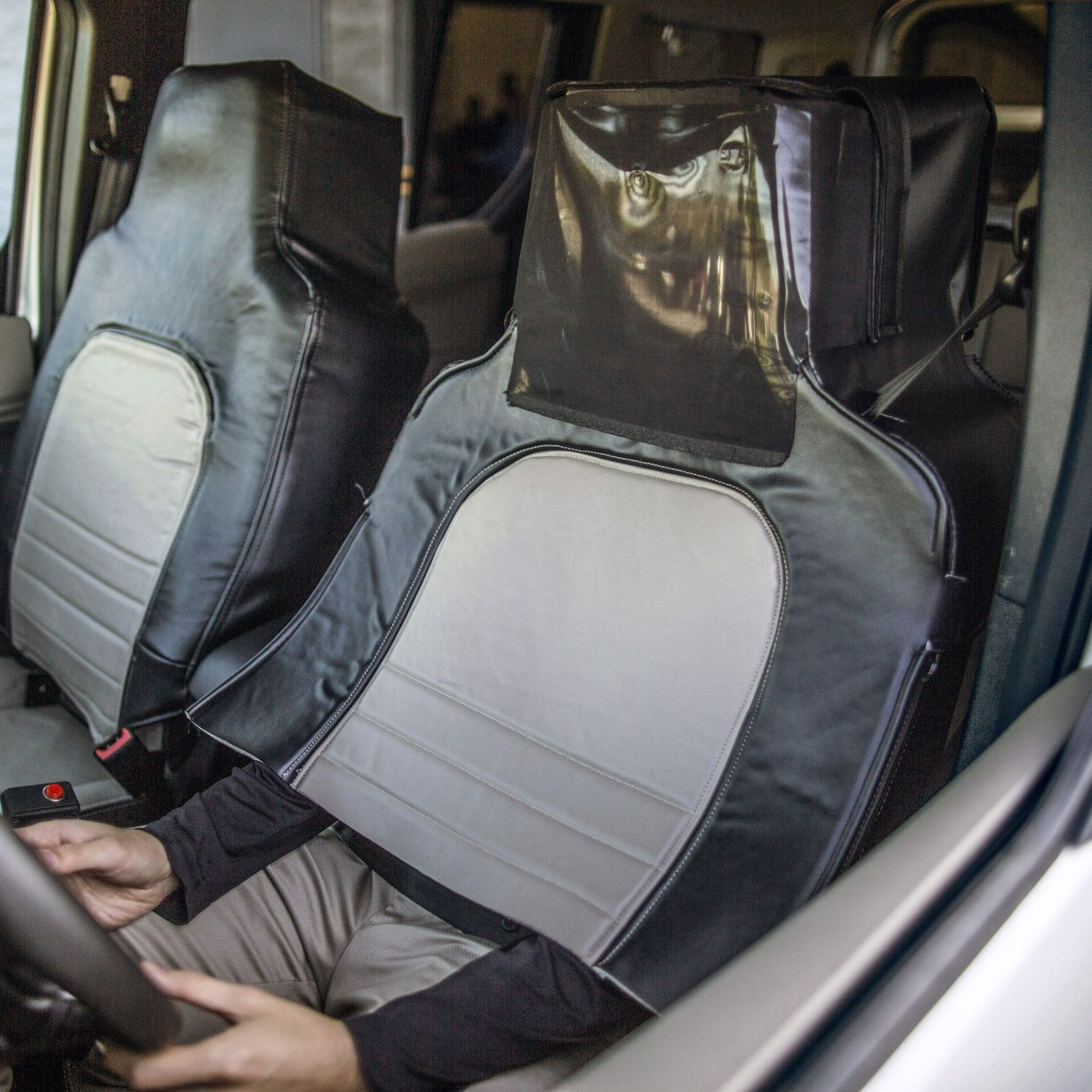 Ford hid a man inside a car seat to test reactions to self-driving