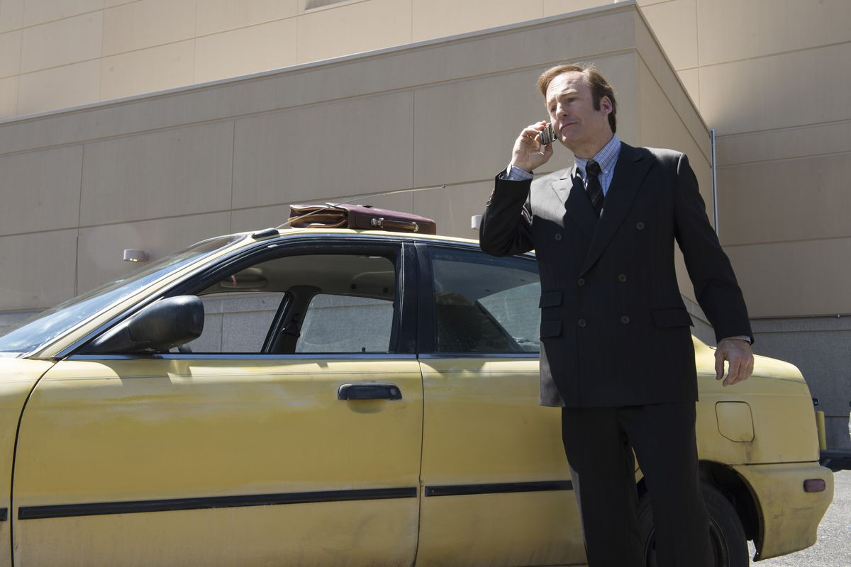 Jimmy McGill (Bob Odenkirk) will be known as Saul Goodman someday. But not today.