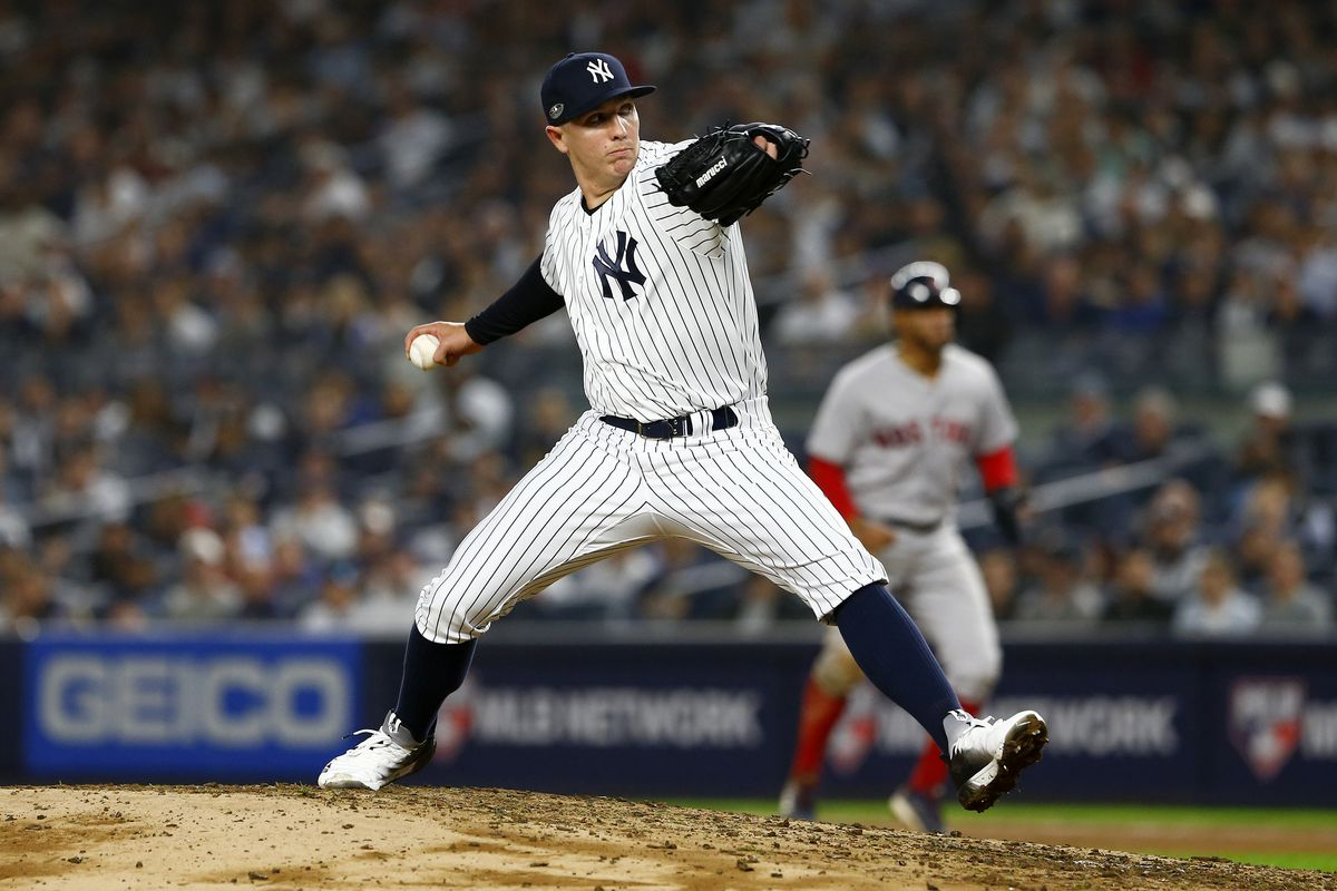 4bacc4ec5cf23 The Greedy Pinstripes  Meet the 2019 Yankees  Chad Green
