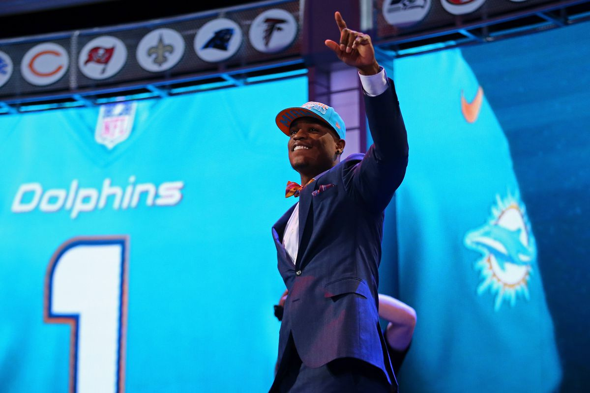 """The Dolphins can cross """"franchise-caliber pass-rusher"""" off their to-draft list. Next up? tackle and corner(s)."""