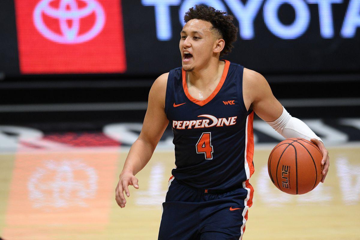 NCAA Basketball: Pepperdine at San Diego State