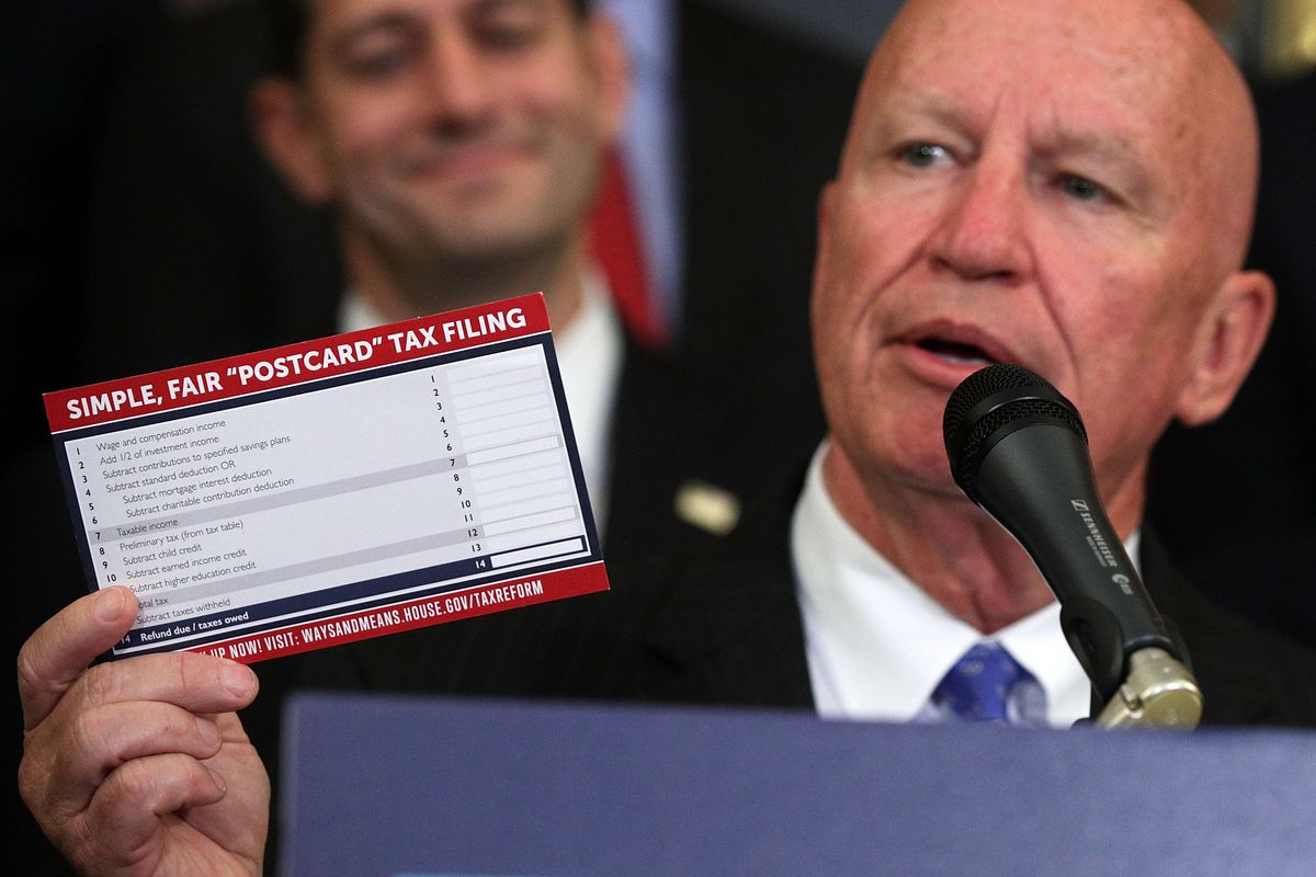 House And Senate Republican Leaders Release Tax Reform Plan