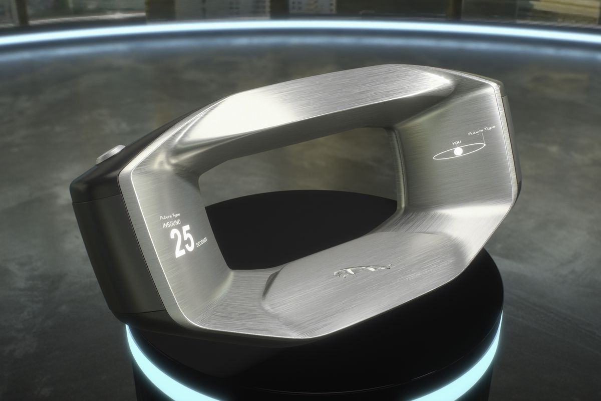 Jaguar Sayer: The Removable Steering Wheel Equipped With Artificial Intelligence
