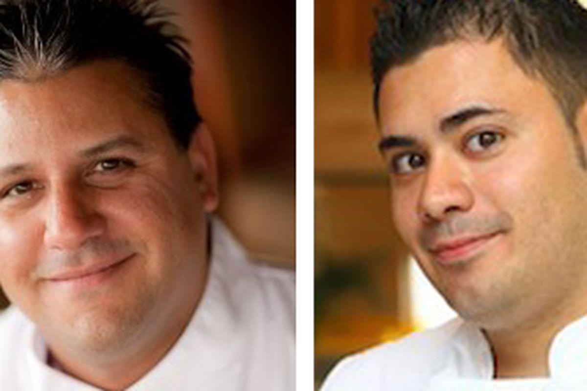 Arturo Moscoso and Todd Harrington