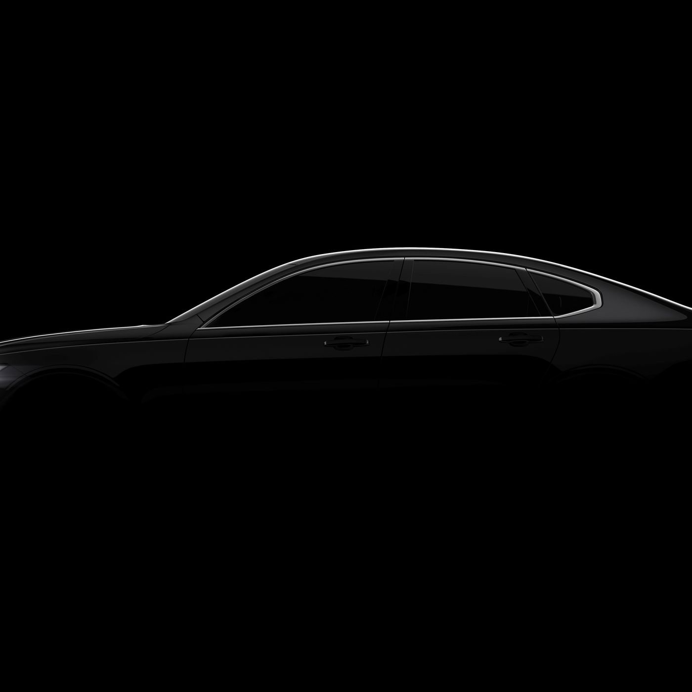 Volvo Teases Its Upcoming S90 Full Size Sedan Full Reveal Coming In January The Verge