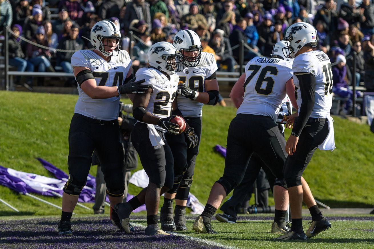 COLLEGE FOOTBALL: NOV 09 Purdue at Northwestern