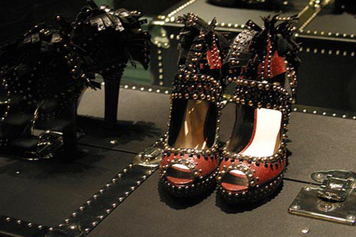 "Studded heels at Prada via <a href=""http://www.flickr.com/photos/rachel_photo/4058028773/in/pool-rackedny"">rachel.photo</a>/Racked Flickr Pool"