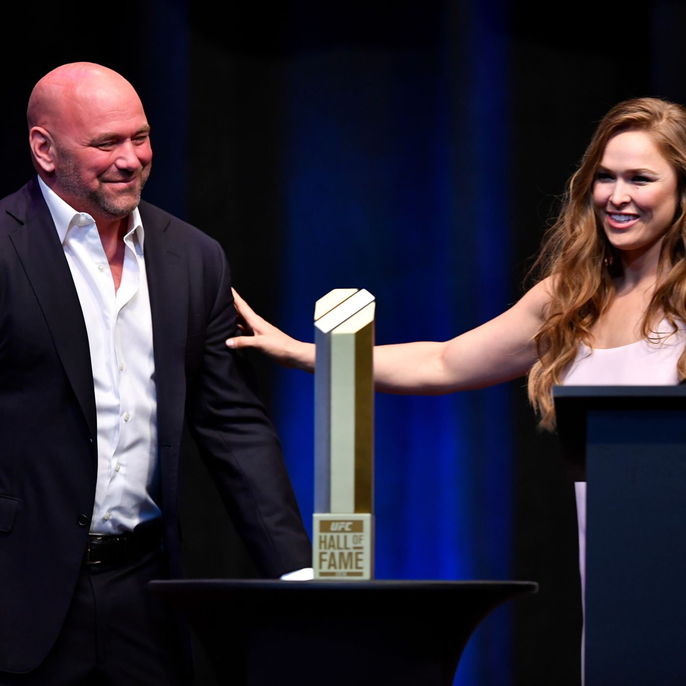 Dana White and Ronda Rousey grabbed $150k in cash and tried to spring Jeremy Stephens from jail in 2012