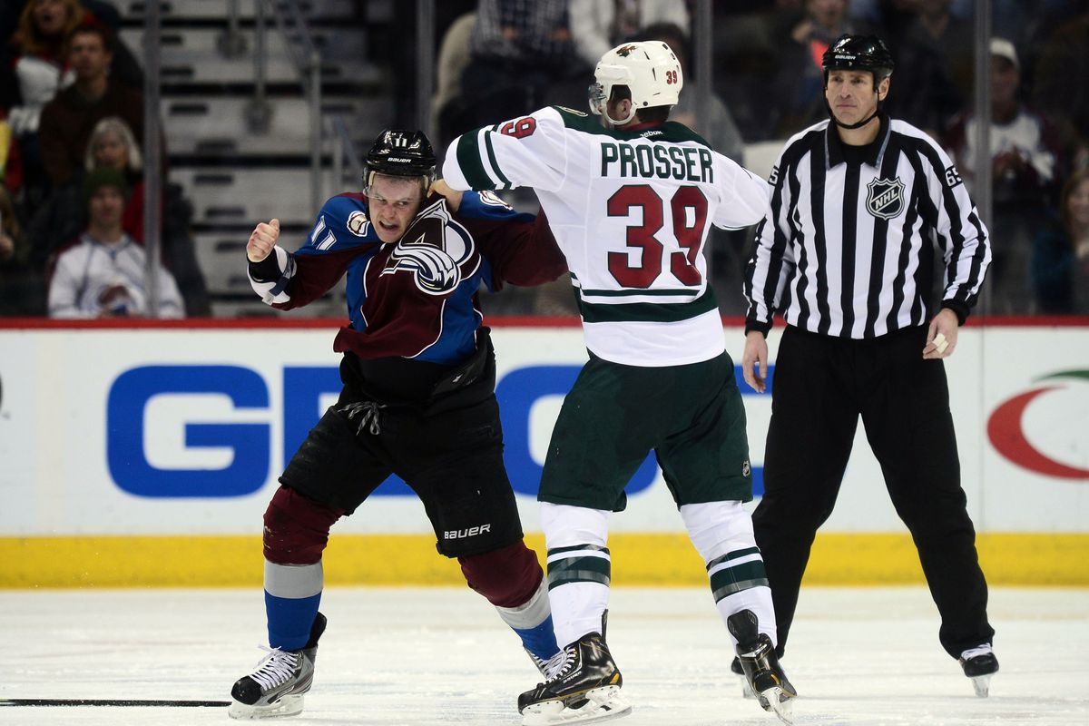 Hopefully, Nate Prosser and the Wild can Face-punch their way to glory.