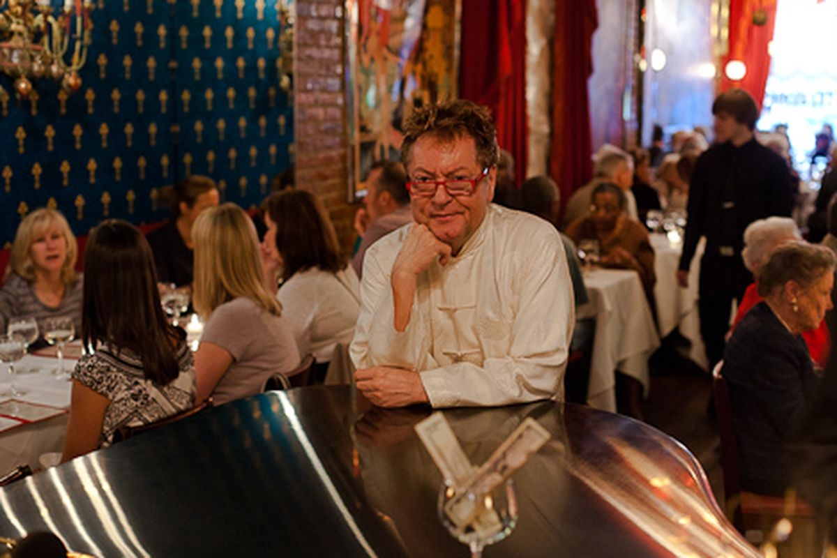 jean-claude baker, owner of hell's kitchen celebrity haunt chez
