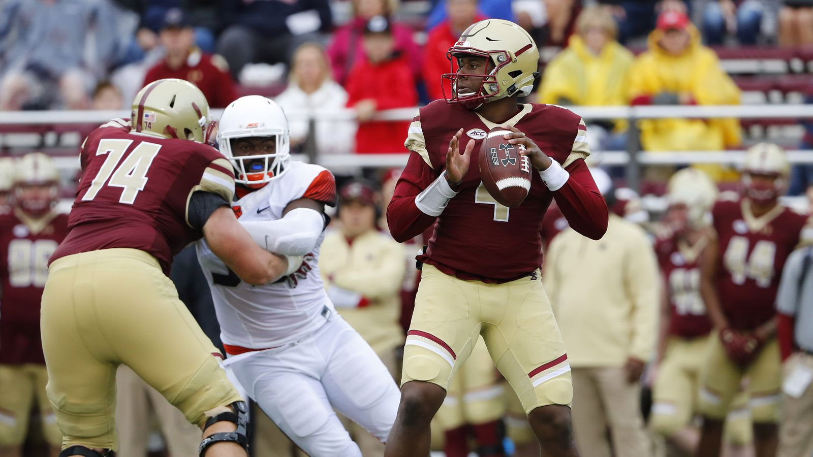 planning for a boston college football game