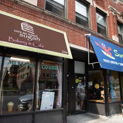 Surf's Up and Give Me Some Sugah in the South Shore neighborhood. | Colin Boyle/Sun-Times