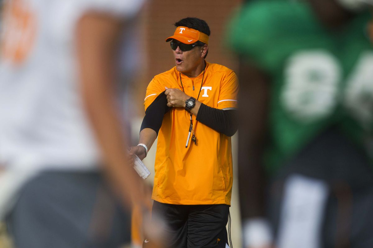 NCAA Football: Tennessee Practice