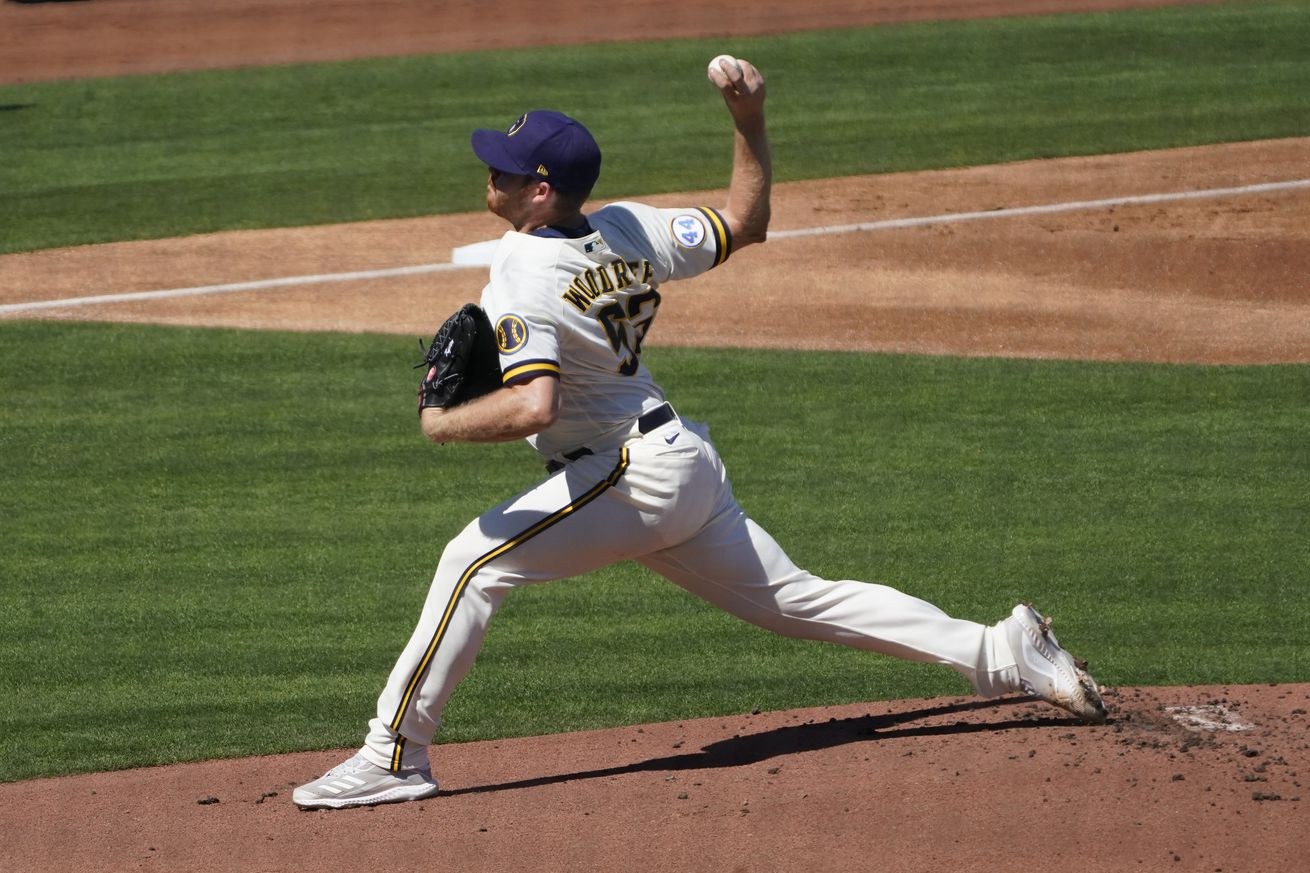 MLB: Los Angeles Angels at Milwaukee Brewers