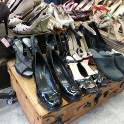 Shoes, glorious shoes.