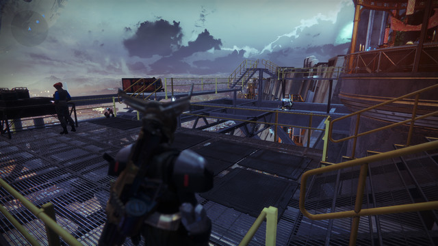 Destiny 2 tower construction