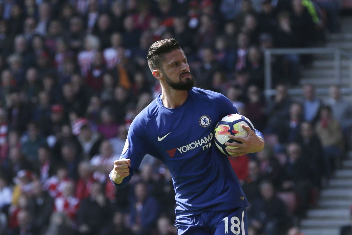 Giroud scores twice as Chelsea storm back to win at Southampton""