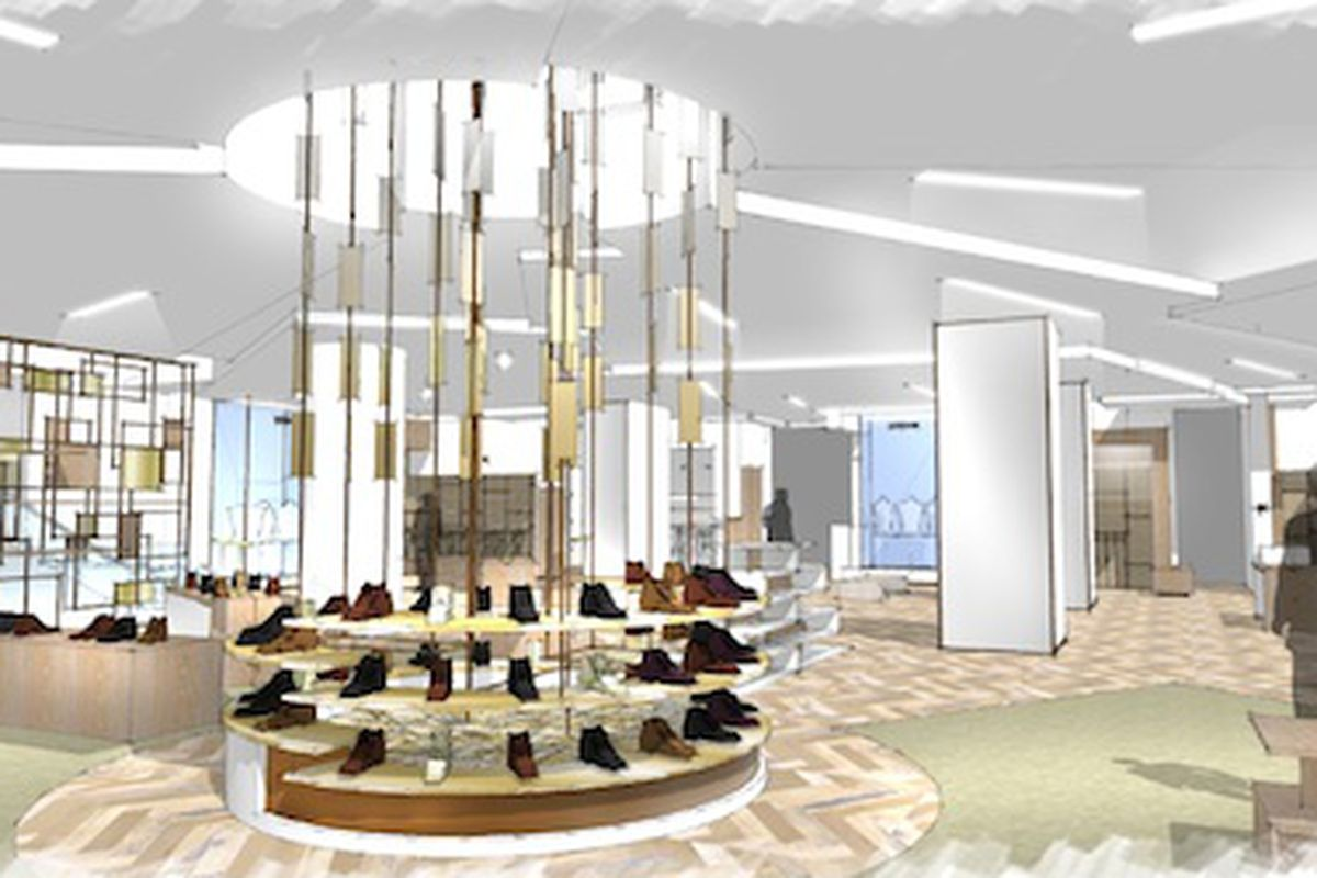 Rendering: Courtesy of Saks Fifth Avenue