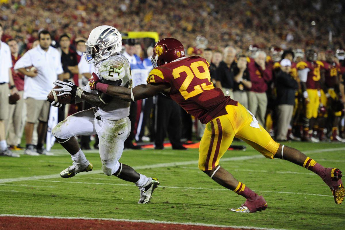 Oregon vs USC