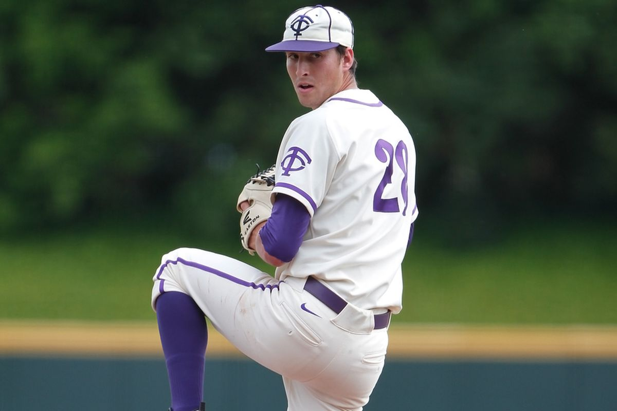 Stefan Crichton returns in 2013 to a loaded TCU pitching staff.