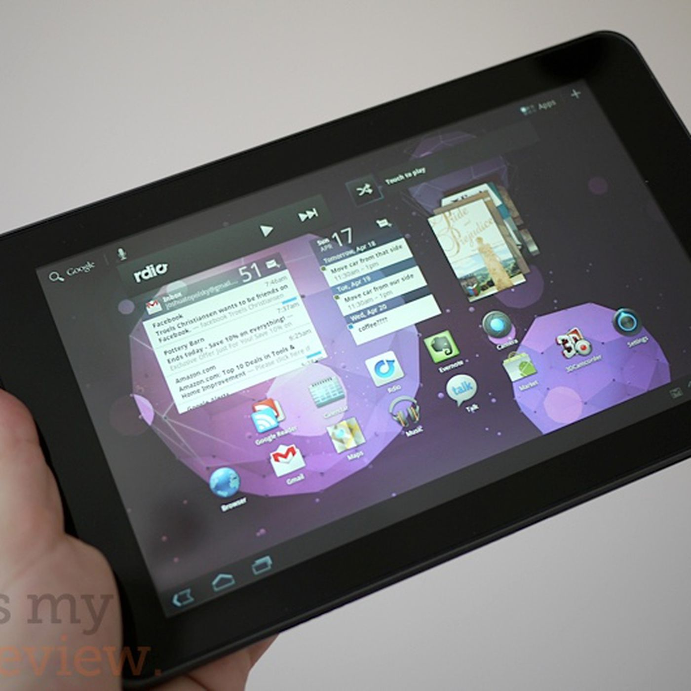 LG G-Slate review - The Verge