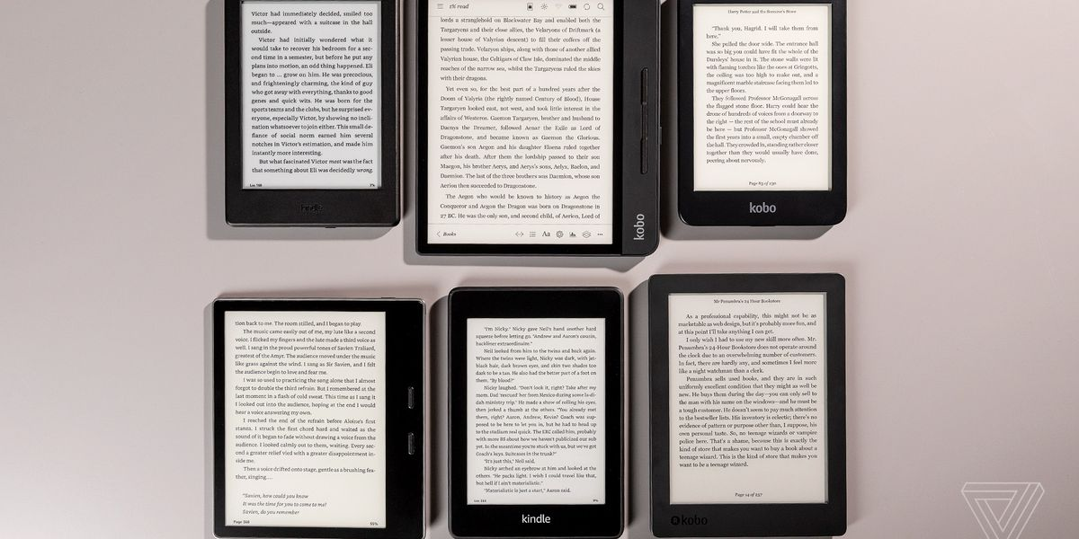 The Best E Reader To Buy Right Now The Verge