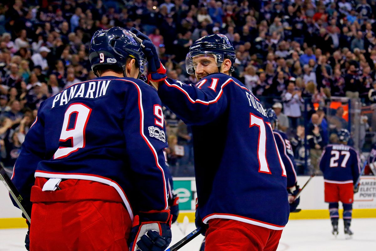 Artemi Panarin sets Blue Jackets record in 1st game with team ...