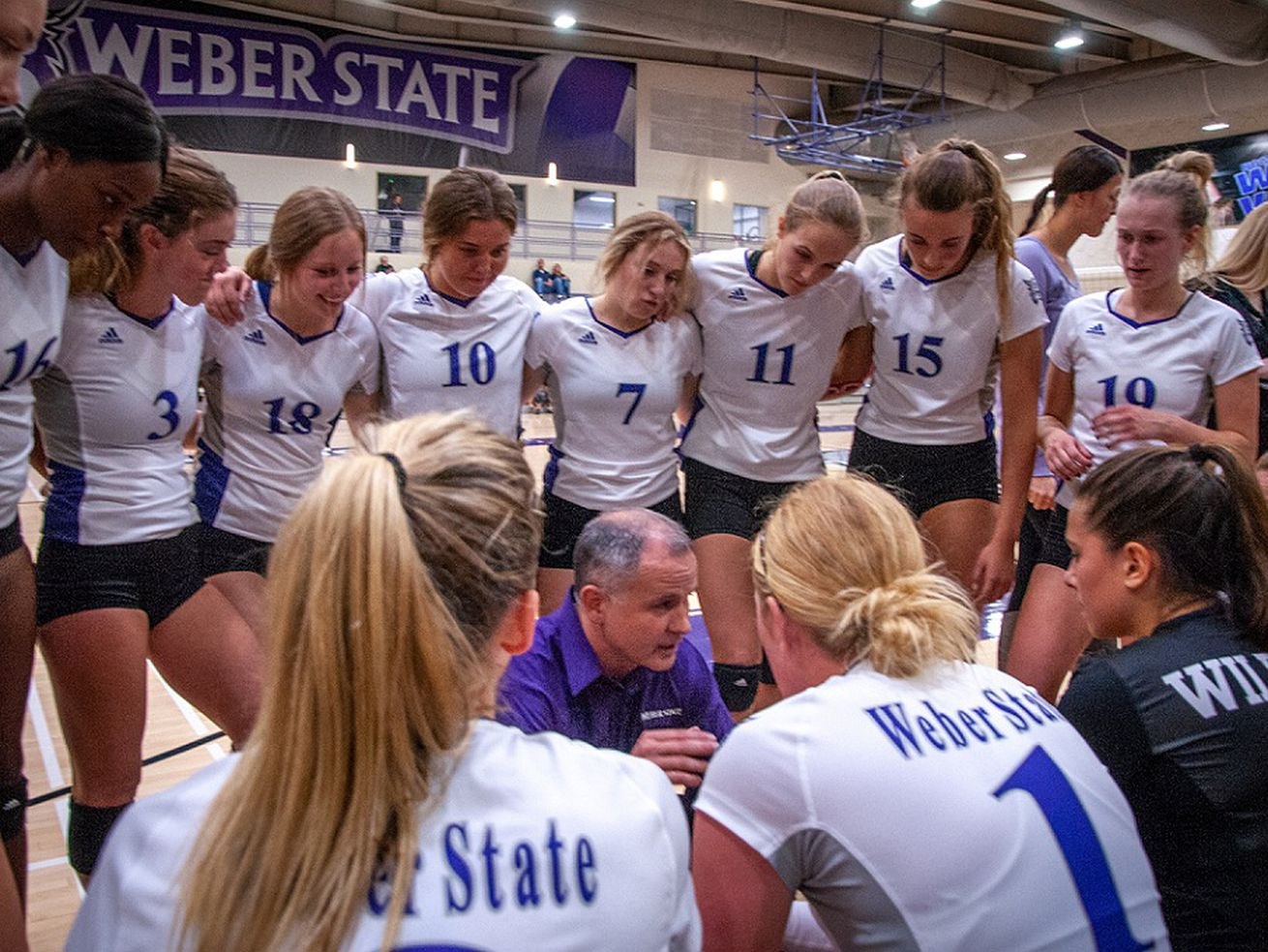 NCAA volleyball: Weber State gives No. 1 Wisconsin a decent test, but falls 3-0 in second-round match at nationals