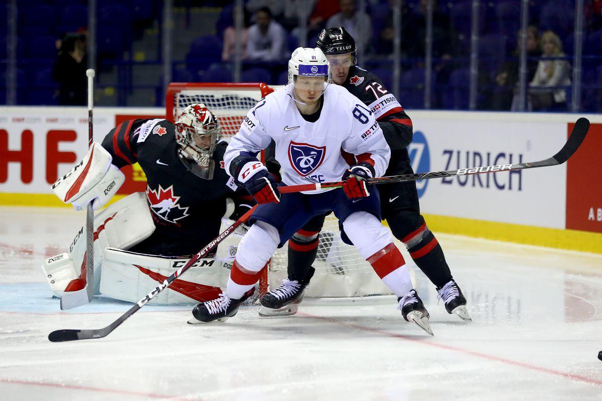 Canada v France: Group A - 2019 IIHF Ice Hockey World Championship Slovakia