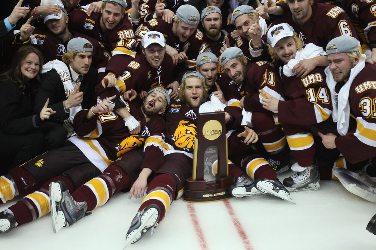 2011 Frozen Four: Minnesota Duluth Hockey Wins National Title Over Michigan In OT - SB Nation ...