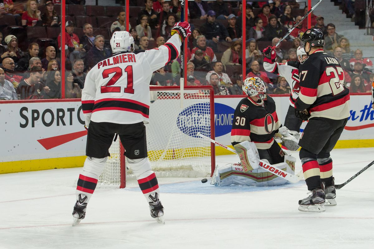 Palmieri is among the improving aspects of this Devils team.