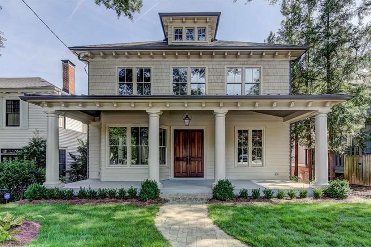 A photo of a renovated house for sale in Ansley Park.
