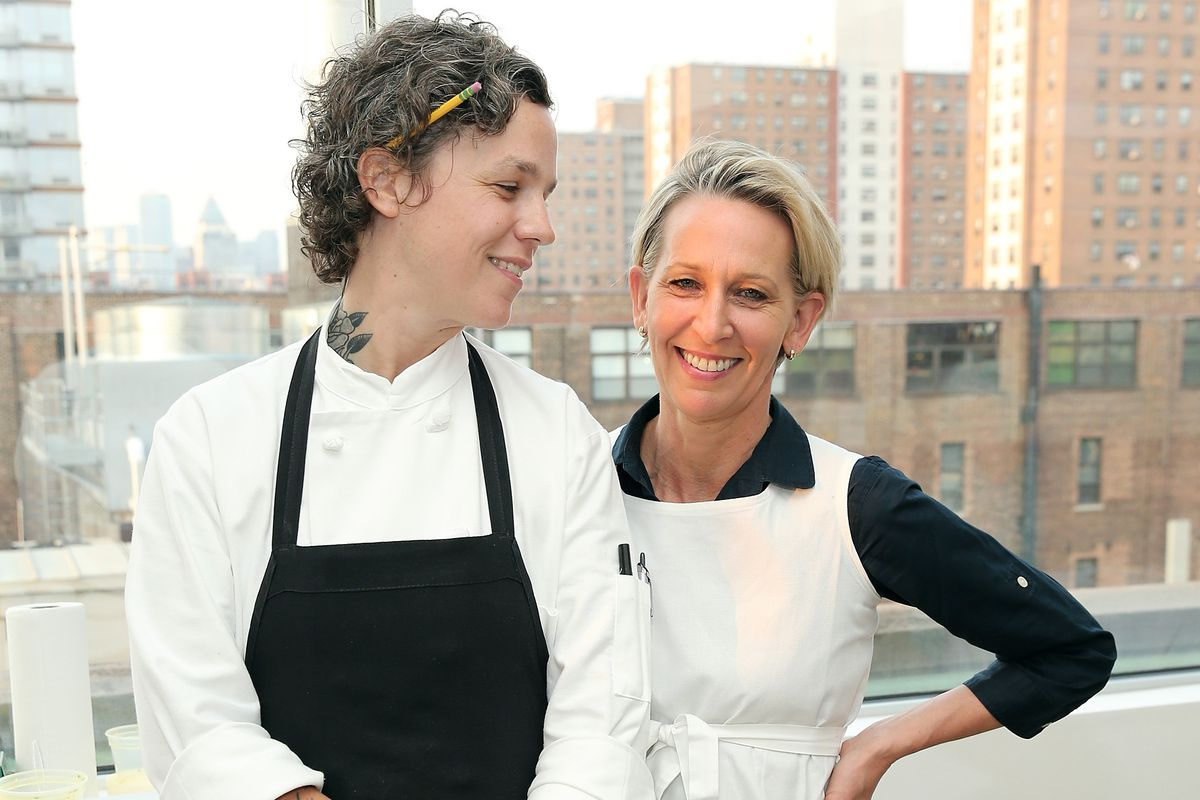 Ashley Merriman and Gabrielle Hamilton