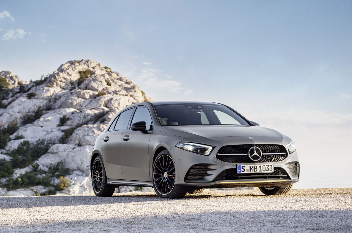 Mercedes A-Class is the first use of the company's new voice