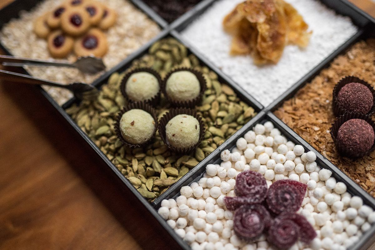 Aquavit chocolates