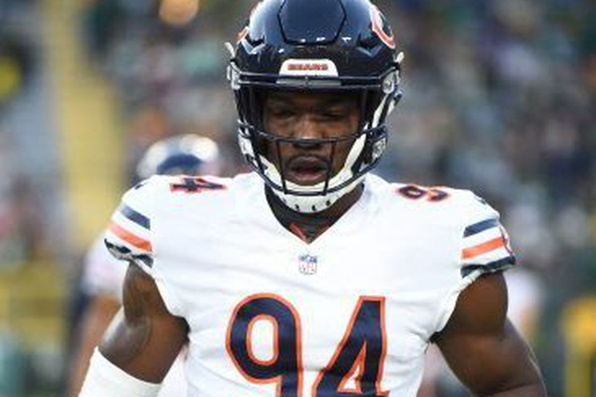 37742cfa9ab The Bears picked up Leonard Floyd's fifth-year option. | Stacy Revere/Getty  Images