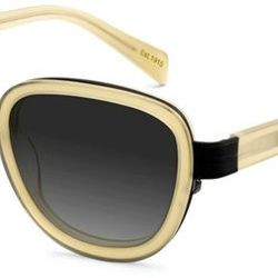 """Metal-Accented Round: <b>Moscot</b> Duchess in khaki, <a href=""""http://www.moscot.com/vintage-sunglasses-duchess_539_11.html#lenscolor=Grey Fade"""">$275</a>"""