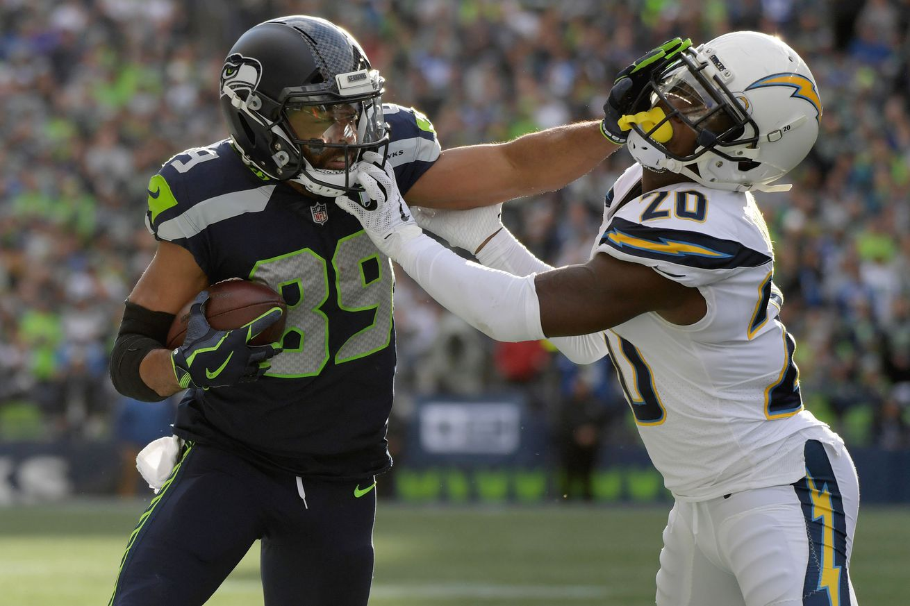ea8efb0dd Seahawks  margin for error gets slimmer after sloppy loss to Chargers - Seattle  Seahawks Expand
