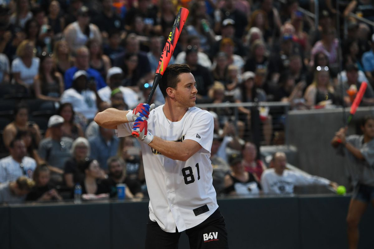 Battle For Vegas Charity Softball Game Hosted By Reilly Smith Knocks It Out Of The Park For Imagine Dragons' Tyler Robinson Foundation Dedicated To Supporting Kids Battling Childhood Cancer