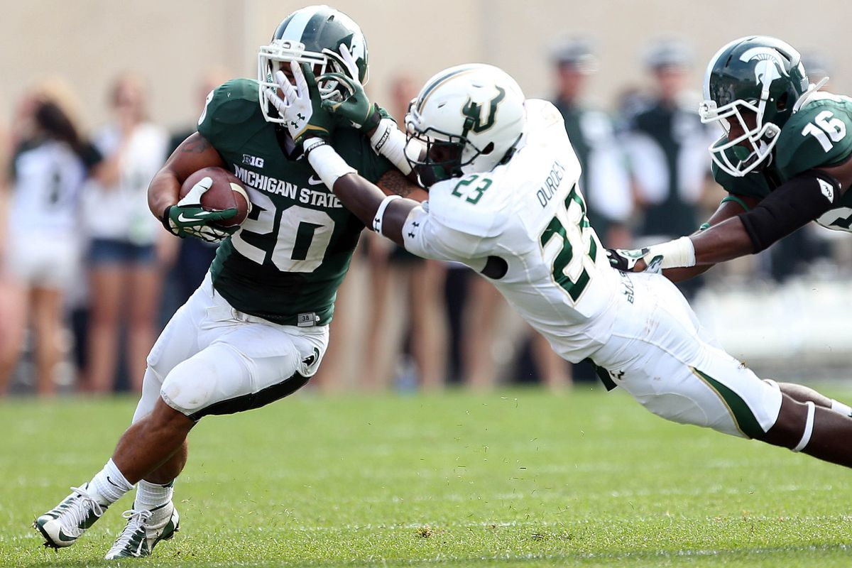 Even Michigan State's offense shouldn't have to watch Michigan State's offense.