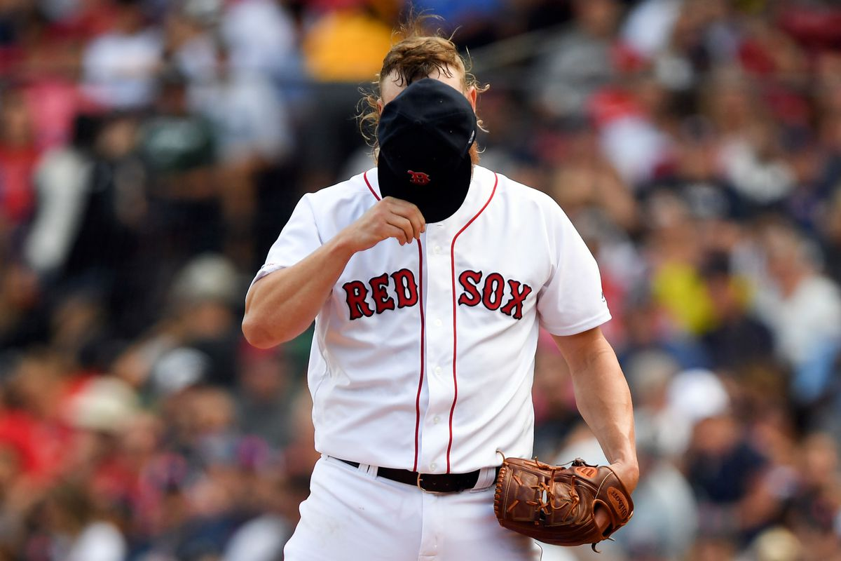 Andrew Cashner struggles again and Red Sox settle for split against the Angels