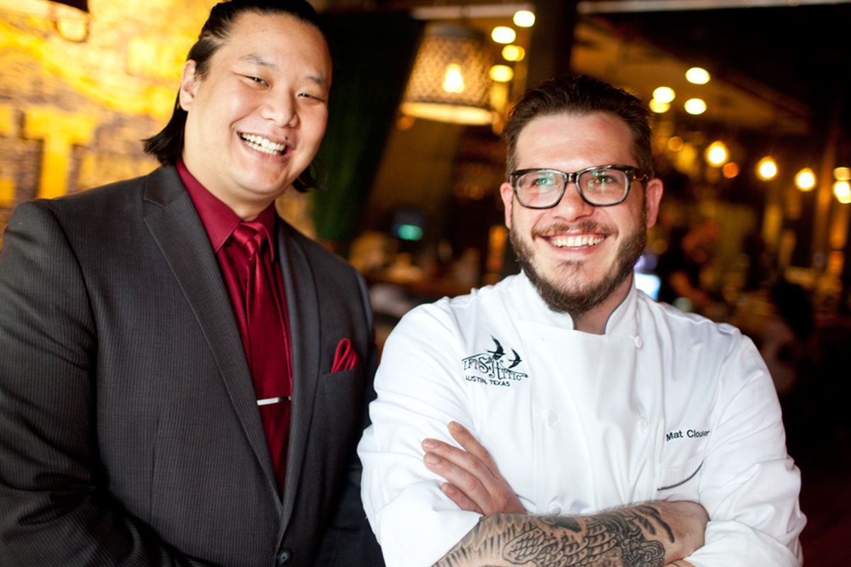 Swift's Attic general manager and partner CK Chin and executive chef Mat Clouser.