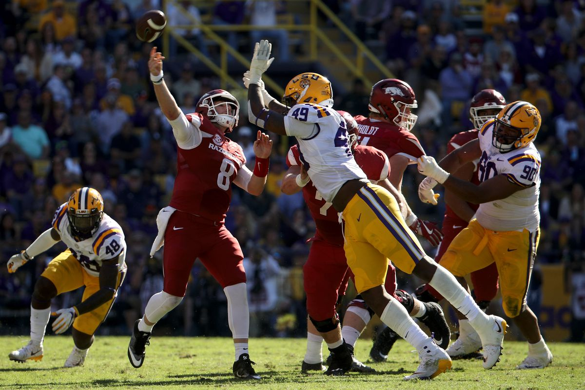 LSU Vs Arkansas Time TV Channel Watch Online Preview Team Speed Kills