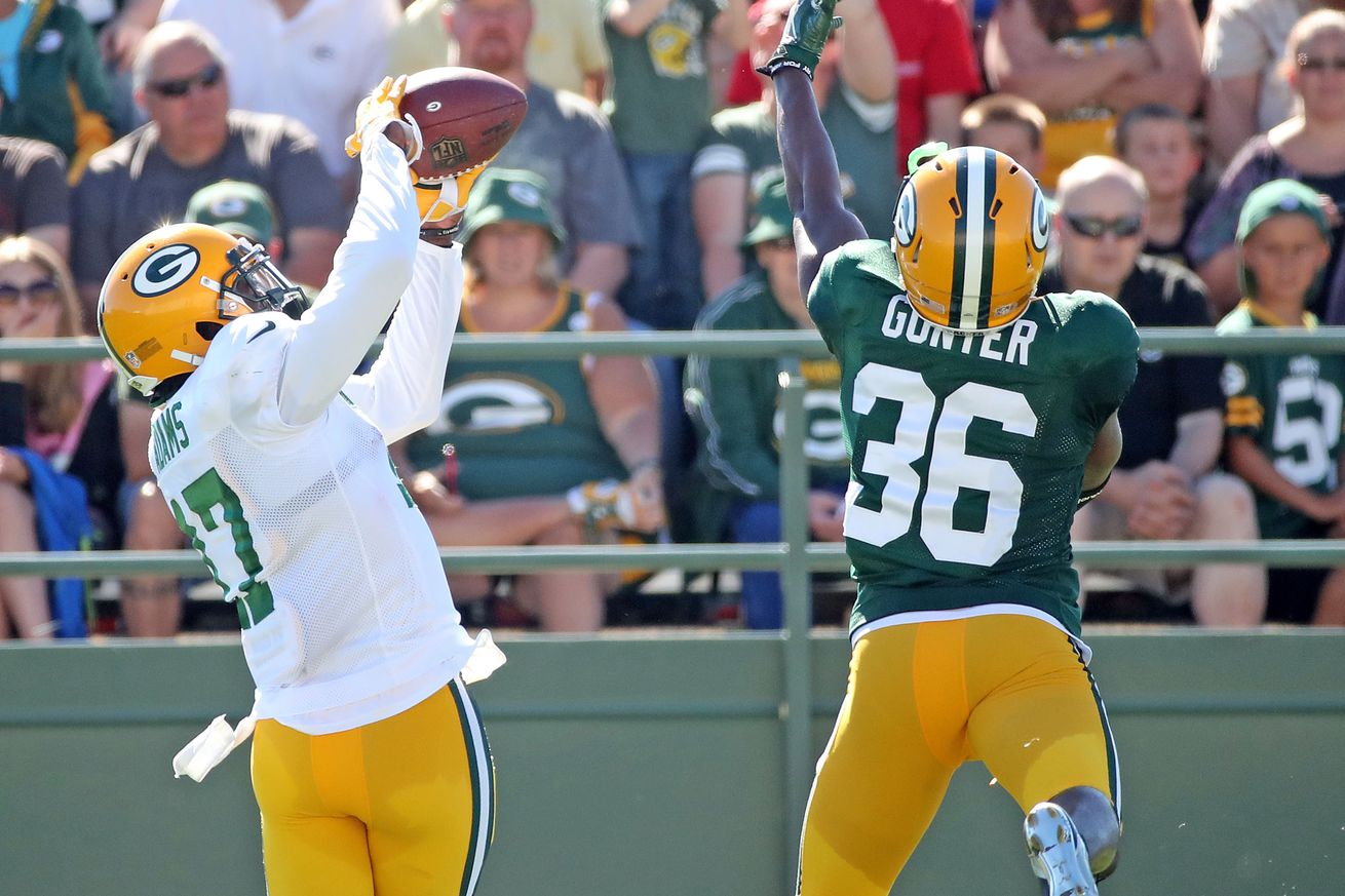 Cheese Curds, 8/17: Packers' cornerback battle looks wide open