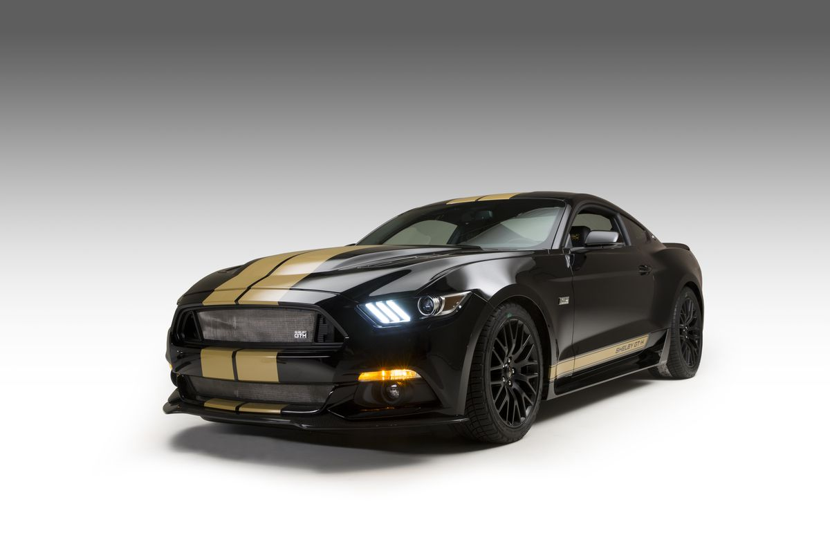 The Ford Shelby GT-H is a rental car that knows how to kick