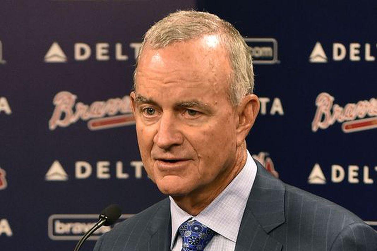 Atlanta Braves President of Baseball Operations John Hart