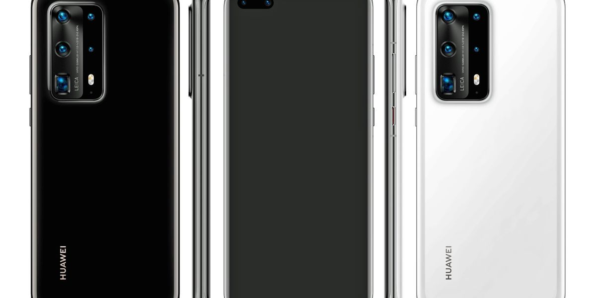 Image of article 'Huawei P40 Pro leak shows off five-camera bump and ceramic body'